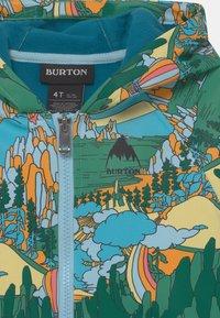 Burton - TODDLERS CROWN WEATHERPROOF FULL-ZIP UNISEX - Soft shell jacket - green/multi-coloured - 2