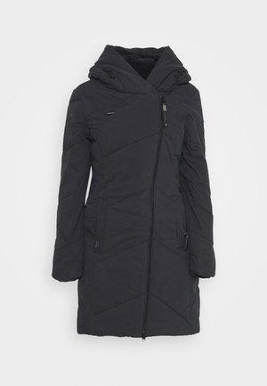 GORDON LONG - Zimní kabát - black