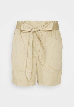 TIE WAIST PULL ON  - Shorts - khaki