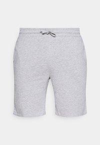 Pier One - 3 PACK - Pyjamahousut/-shortsit - black/mottled grey/khaki - 1