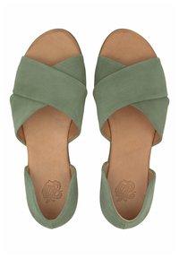 Apple of Eden - CHIUSI - Sandals - khaki - 3