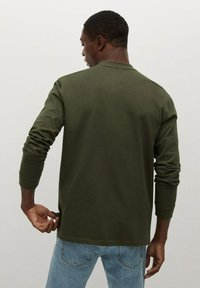 Mango - Long sleeved top - kaki - 2