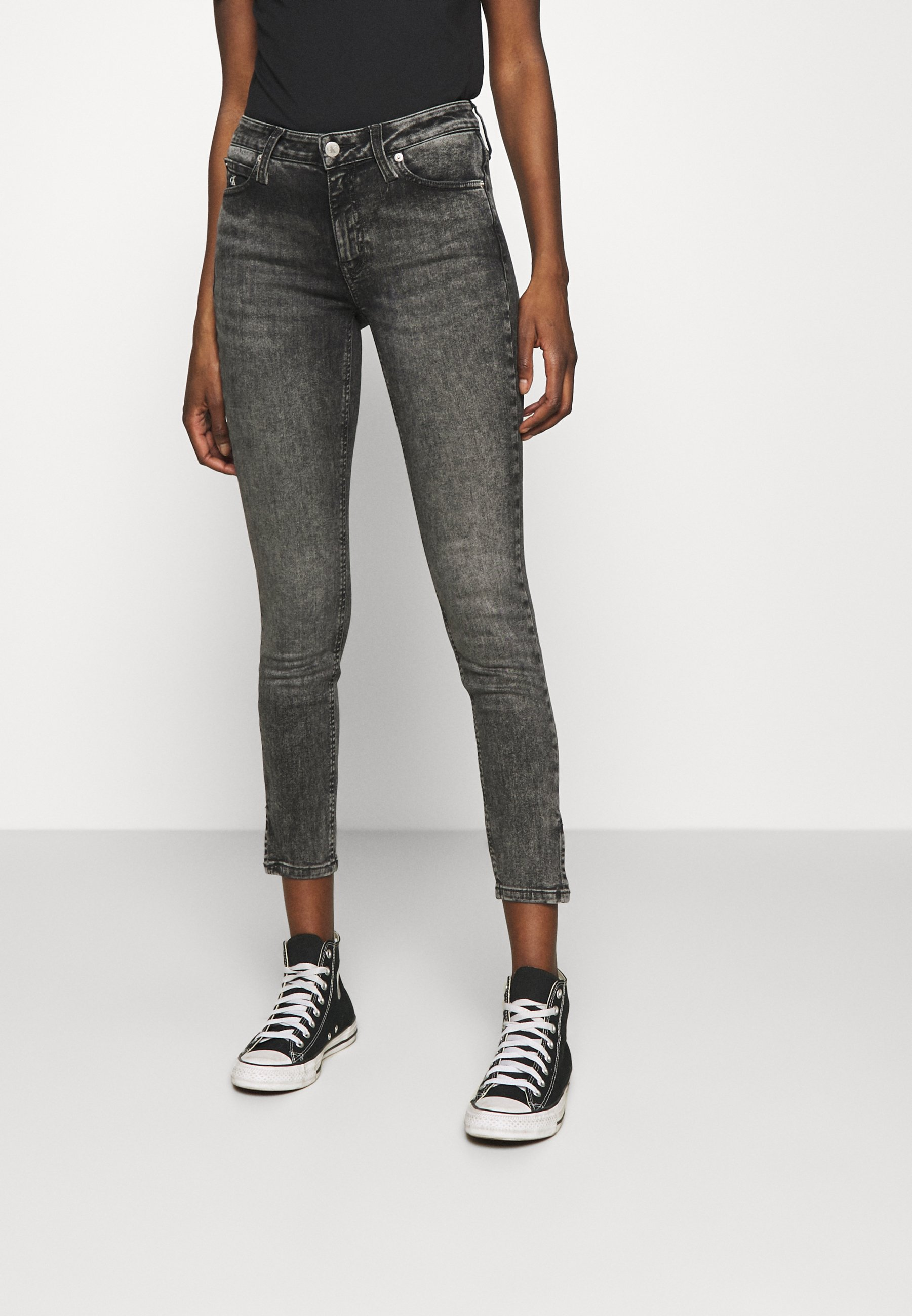 Donna MID RISE SKINNY ANKLE - Jeans Skinny Fit