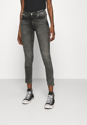 MID RISE SKINNY ANKLE - Jeans Skinny Fit - denim grey