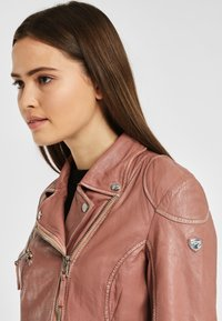 Gipsy - PGG LABAGV - Leather jacket - foggy rose - 3