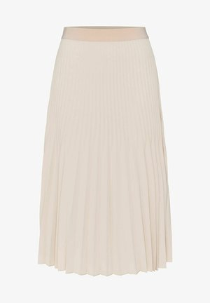 RINITA ROS - Pleated skirt - stein
