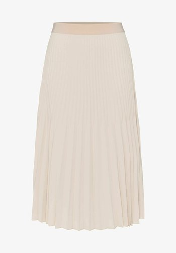 RINITA ROS - Pleated skirt - stein