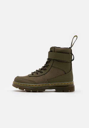 COMBS TECH - Lace-up ankle boots - khaki