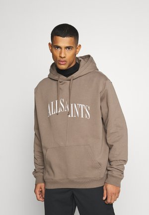 DROPOUT HOODY - Sweater - washed khaki brown
