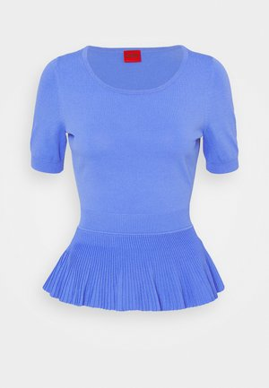 SHARMAIN - Basic T-shirt - blue