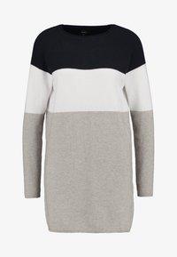 ONLLILLO DRESS  - Jumper dress - night sky/w. white melange/lgm