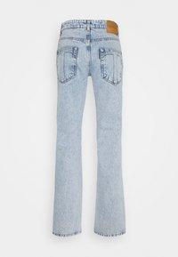 Trussardi - FIVE POCKET PALE - Straight leg jeans - baby blue - 1