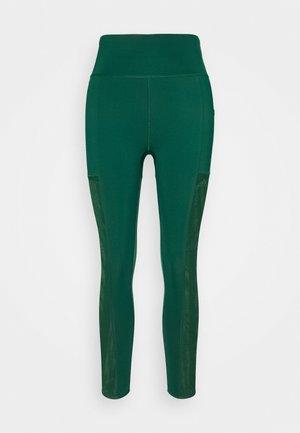Ivy Park Mesh 3 Stripe Tight - Leggings - Trousers - darkgreen