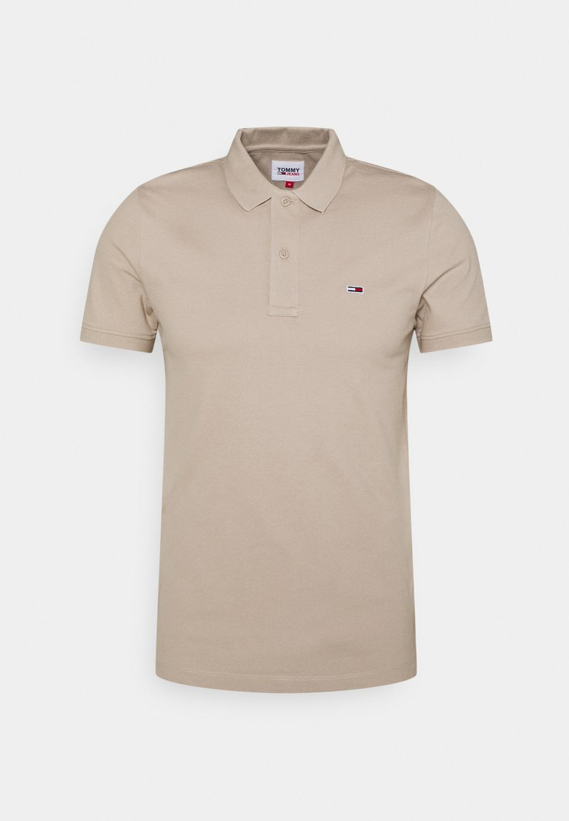 Tommy Jeans - CLASSICS SOLID  - Poloshirt - beige
