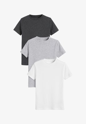 3 PACK  - Print T-shirt - grey