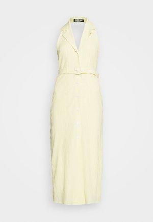 SASHAY DRESS - Skjortekjole - yellow