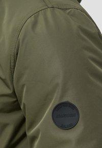 INDICODE JEANS - Winter coat - dark green - 4