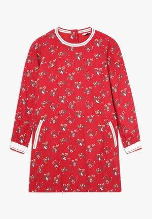 MAYA - Denní šaty - vermelho