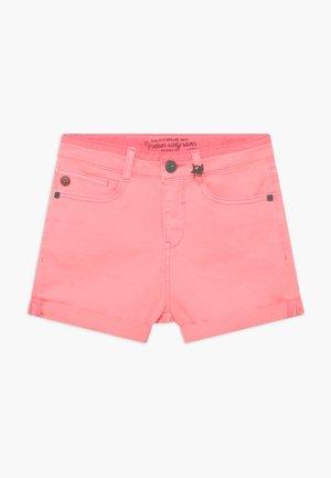 Denim shorts - rosa mexica
