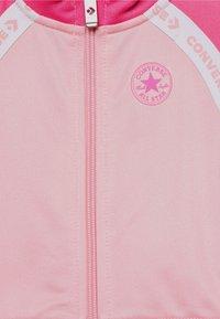 Converse - CHUCK SET - Mikina na zip - coastal pink - 3