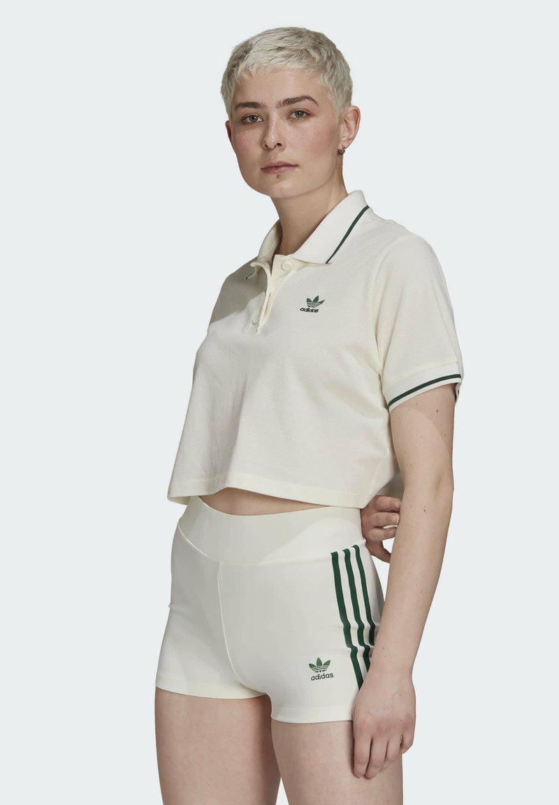 adidas Originals - TENNIS LUXE POLO ORIGINALS - Polo shirt - off white