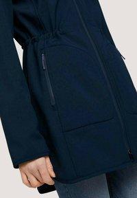 TOM TAILOR - CASUAL  - Soft shell jacket - sky captain blue - 4