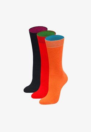 3PACK POOKY NIGHT - Socks - orange, rot, schwarz