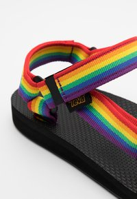 Teva - ORIGINAL UNIVERSAL WOMENS - Chodecké sandály - rainbow/black - 5