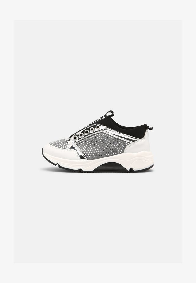 SPARKLING - Sneakers laag - off white/argento