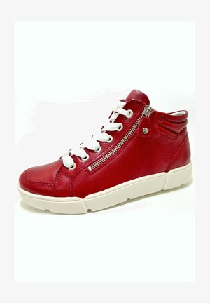 High-top trainers - rot