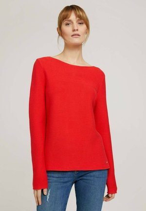 Jumper - strong red