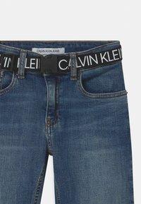 Calvin Klein Jeans - REG STRAIGHT - Straight leg jeans - blue - 3