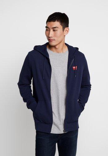 SIGN OFF ZIPTHRU - Zip-up hoodie - navy