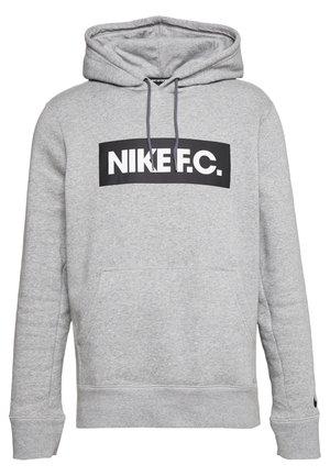 FC HOODIE - Sweat à capuche - dark grey/white/black
