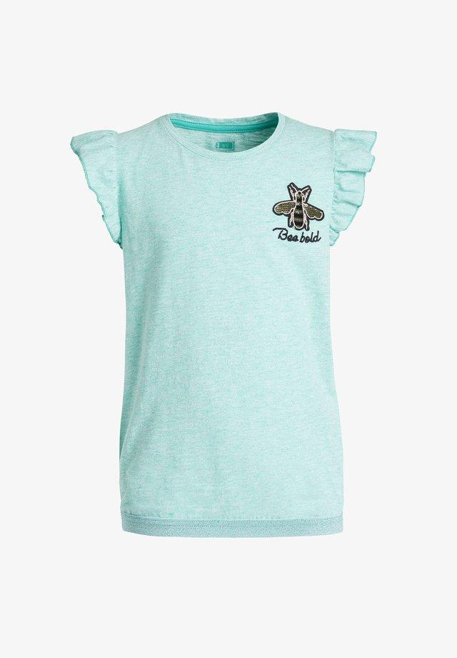 Camiseta estampada - mint green