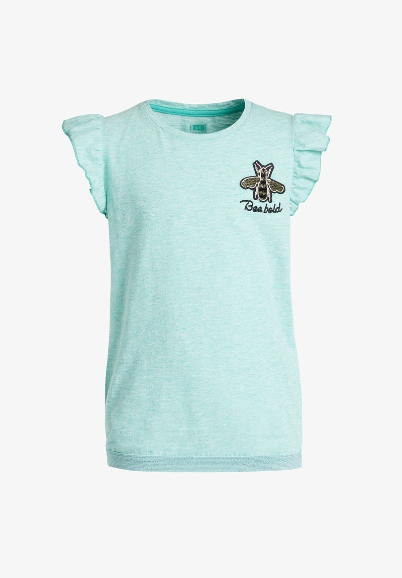 WE Fashion - Print T-shirt - mint green