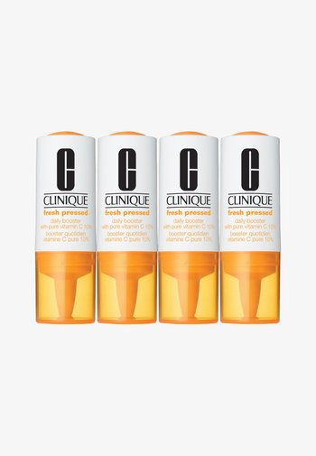 FRESH PRESSED DAILY BOOSTER WITH PURE VITAMIN C 10% 4 PACK - Skincare set - -