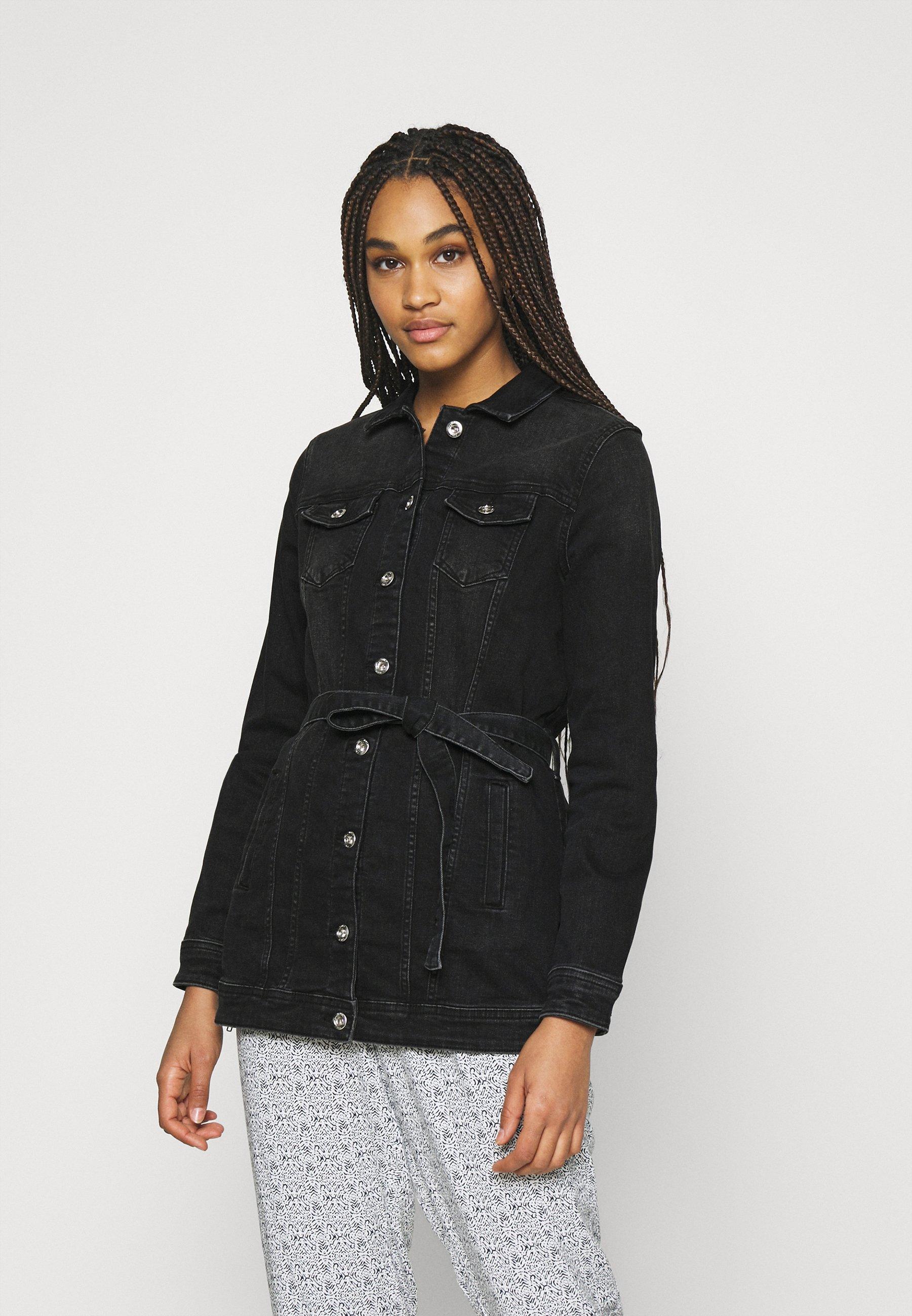 Women ONLTIA LIFE LONG BELT  - Denim jacket