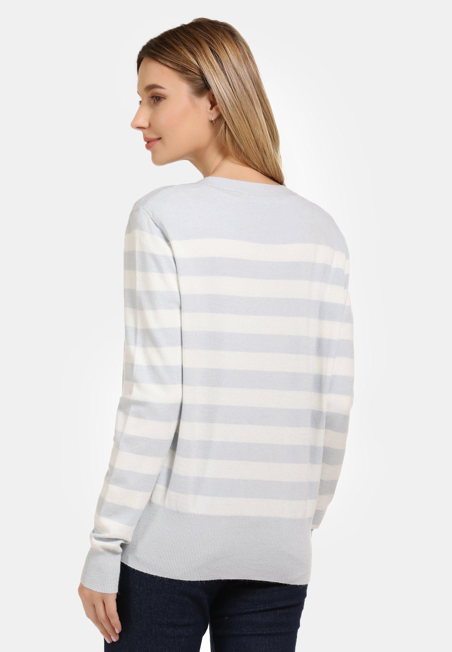 Factory Price Women's Clothing usha Cardigan light blue\ off-white xGmS2XzS9