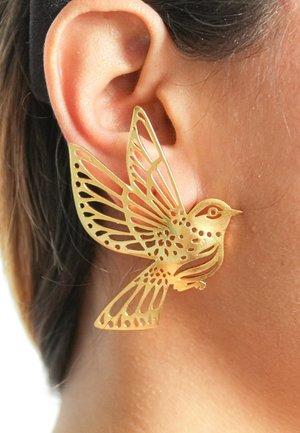 QUEEN OF THE SKY  - Earrings - gold