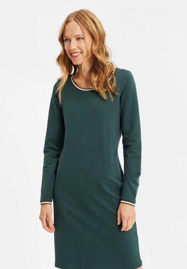 MET GLITTERDETAILS - Sukienka z dżerseju - dark green