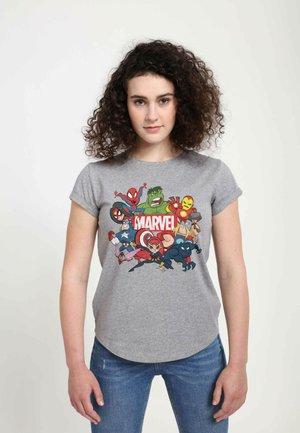 MARVEL GROUP MARVEL RETRO - T-shirts print - melange grey