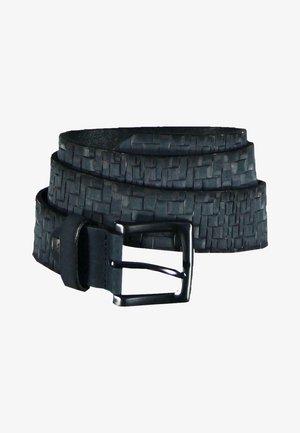 Braided belt - blau