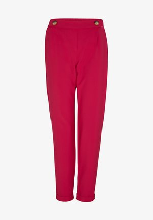 Trousers - deep pink