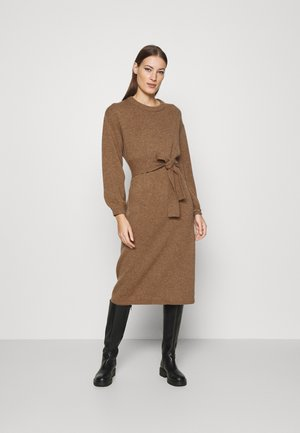 DRESS - Jumper dress - beige dark