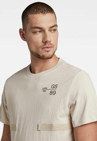 G-Star - T-shirt basic - whitebait - 4
