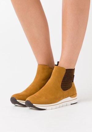 BOOTS - Nilkkurit - mustard