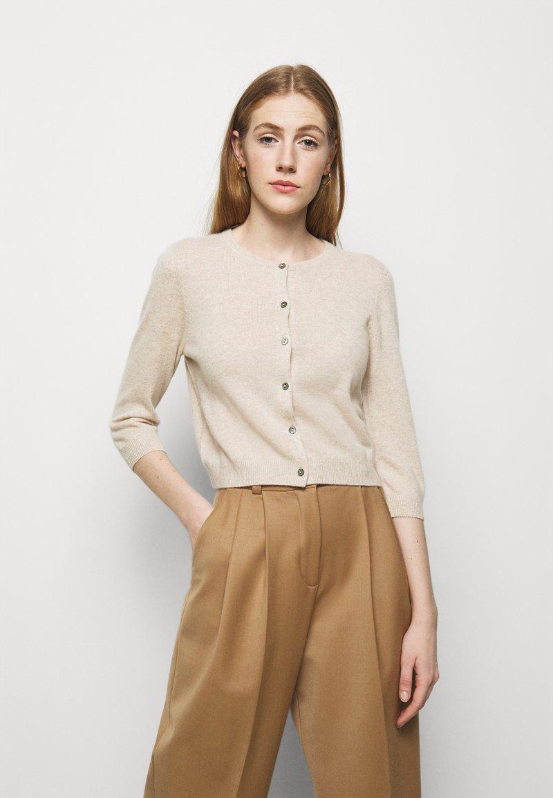 Repeat - CARDIGAN - Cardigan - beige