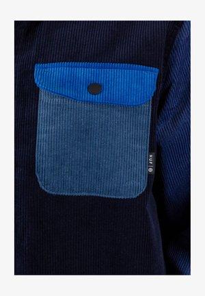 CORD BLOCK  - Shirt - french navy
