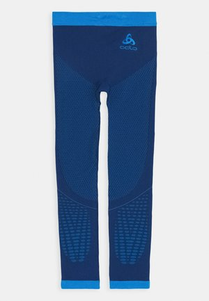 BOTTOM PANT PERFORMANCE WARM KIDS UNISEX - Base layer - estate blue/directoire blue
